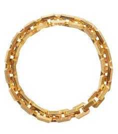 Eddie Borgo Chunky Gold Supra Link Choker #tiffany vintage tiffany jewelry marks