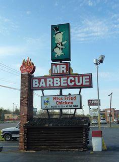 Mr. Barbecue......Winston Salem, North Carolina