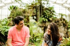 """""""Assim que o amor entrou no meio, o meio virou amor."""" - Maisa e Victor! #ensaioprewedding #jardimbotanico #savethedate #love #romance #loveisintheair"""