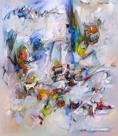 Obrazy nowoczesne malowane i wydruki na płótnie  - obrazy współczesne abstrakcja