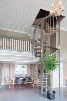 Industriell look med betonggulv - Byggmakker+ Loft, Outdoor Decor, Furniture, Home Decor, Wall, Decoration Home, Room Decor, Lofts, Home Furniture