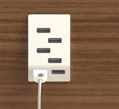 USB Outlet Gives You Multiple Places to Power up Gadgets | Gadgets ...