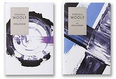 Penguin commissioned Angus Hyland and his team to design a new series of five of Virginia Woolf's major works in hardback editions. The designs reference authentic period elements but do so in an entirely contemporary manner.The dust jackets feature abs… Virginia Woolf, Book Cover Design, Book Design, Gill Sans, Design Editorial, Communication Art, Branding, Publication Design, Painted Books