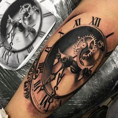Attractive Tattoo Inner Arm