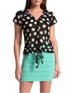 Like the top, not so much the skirt --charlotte russ