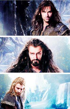 Fili, Kili, Thorin