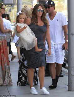 Happy families: Joining Petra was her glam older sister Tamara Ecclestone…