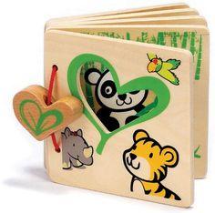 Hape Eco My First Wooden Flip Book