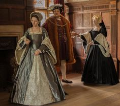 Image from our new permanent exhibition - The Life and Times of Anne Boleyn - looking at three stages of Anne's life at Hever Castle.   Image 2: With Henry VIII and sister Mary, when Anne was forbidden from marrying Henry Percy.