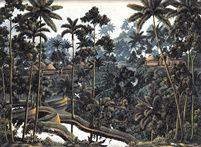 Ni Gusti Agung Galuh (b. 1968) - Suasana Desa di Bali