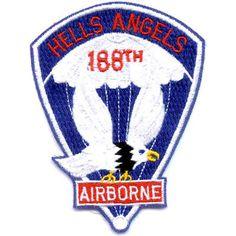188th Airborne Infantry Regiment Patch - Hells Angels Airborne