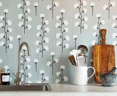 Sweet Cotton | Wallpaper from the 70s