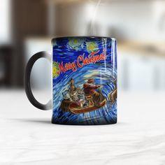 Merry Cristmas Mug, Chirstmas Gift, Merry Christmas coffee mug, Christmas color changing mug, Christmas Funny Mug, Christmas stocking