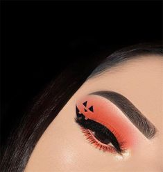 Today we will talk about that of the coming Halloween eyes makeup. Eye makeup can not only match clothes but also express people's feelings. Makeup Goals, Makeup Inspo, Makeup Art, Makeup Inspiration, Beauty Makeup, Makeup Ideas, Mua Makeup, Makeup Tips, Halloween Eye Makeup