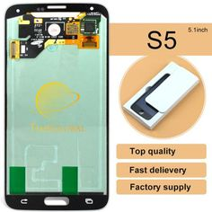 10PCS 100% Original Tianm replacement LCD display digitizer For Samsung galaxy S5 lcd G900F G900FD G900H free DHL shipping  — 60708.85 руб. —