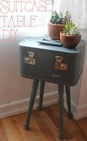 painting a vintage suitcase - Google Search