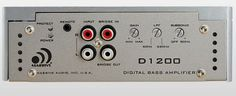 Save $ 10 order now Massive Audio D 1200 (D1200) Car Stereo Mono Subwoofer Amp a