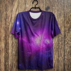 Camiseta Galaxy Print