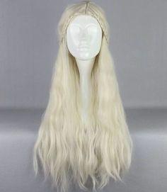 Game Of Thrones Daenerys Targaryen Cosplay Wig