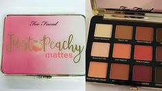 Jerrod Blandino just showed off the inside of the upcoming Too Faced Just Peachy Mattes Palette and it looks amazing.