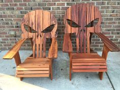 DIY easy, step by step plans to build your own Punisher chairs