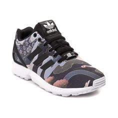 sale retailer d9aca 8b0c0 Take flight with the new ZX Flux Geisha Athletic Shoe from adidas! Lace up  the