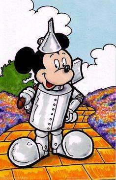 Wizard of Oz Tin Woodsman Mickey repin & like. listen to Noelito Flow songs. Noel. https://www.twitter.com/noelitoflow