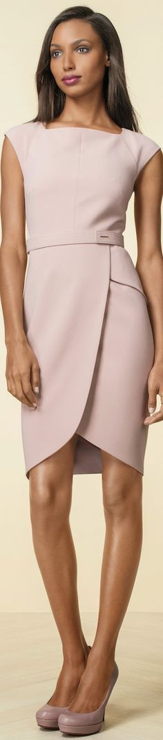 The Limited Tulip Skirt Sheath Dress  @roressclothes closet ideas women fashion outfit clothing style apparel