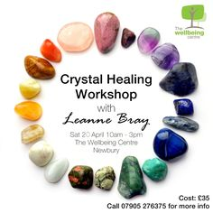Learn how crystals work and their uses; how to choose, cleanse, charge and programme crystals; how to use a pendulum; how to ground and protect yourself; and how to use crystals for healing and about chakras.