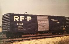 RF&P Boxcar #2337 Vintage Trains, Boxcar, Rolling Stock, Train Car, Training Equipment, Locomotive, Smoke, Cars, Classic