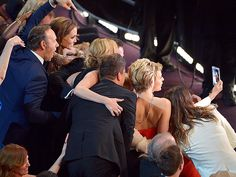 """Best Moments You Missed on TV   SUPER SELFIE   It was the photo that """"broke Twitter,"""" racking up a record-breaking number of retweets that currently exceeds 2 million. Thanks to Bradley Cooper's long reach, we can't get enough of this A-list selfie, which captured Ellen DeGeneres with just about every big name at the Oscars."""