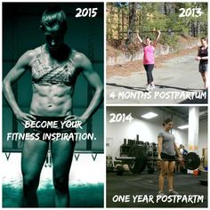 2 years ago, I had a baby. If you would have asked me then, if I saw myself being a fitness inspiration to moms and women alike, I would have laughed. When I look at the picture on the left, I still can't believe that's me. But I put in the work, day in and day out. I made a commitment to myself. I trained through sleepless nights and stayed on track with my diet even when I didn't want to. Hard work pays off! And of course I'm here to help you if you need me camarocarolina@gmail.com.