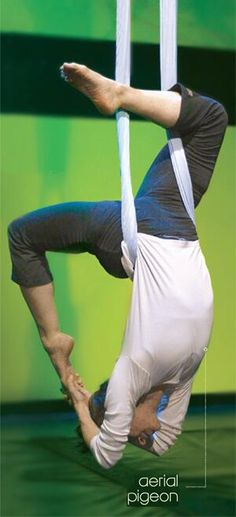Unnata® Aerial Yoga blends traditional yoga with the physical training of an aerial acrobat