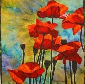 Red Poppies  - via @Craftsy