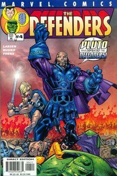 Defenders Vol. 2 # 4 by Erik Larsen & Klaus Janson