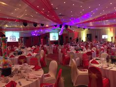 Here is a shot of the beautifully decorated room from Under The Big Top Charity Ball at Moat House Hotel, Stoke. Raising funds for Steelite international Charitable Foundation