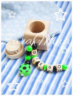 Dosen & Schachteln - Holzdose mit Namen für Milchzähne - ein Designerstück von ZaraMina bei DaWanda