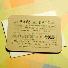 Calender style {April Foster Events}