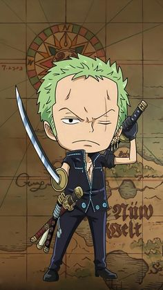 One Piece - Gol D. Roger was known as the Pirate King, the strongest and most infamous being to have sailed the Grand Line. Roronoa Zoro, Vocaloid, Manga Anime One Piece, One Piece Seasons, One Piece Movies, Xiaomi Wallpapers, Zoro One Piece, Movie Wallpapers, Joker And Harley Quinn
