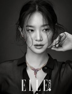 """Shin Min Ah shines with """"Love & Animal"""" jewelry collection for Elle Korea Korean Beauty, Asian Beauty, Korean Girl, Asian Girl, Kpop, Korean Fashion Trends, Korean Celebrities, Celebrity Look, Animal Jewelry"""
