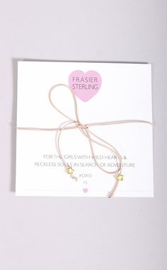 frasier sterling: disco fever bowtie necklace - tan stars
