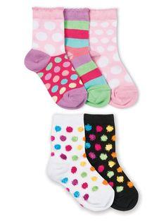 Jefferies Socks Patterned Crew Socks 5 Pack