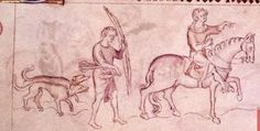 Image taken from Queen Mary Psalter. Originally published/produced in England (London?); circa 1310-1320. Shelfmark/Page: Royal 2 B. VII, f.151v