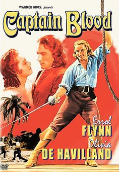 Captain Blood Poster An enslaved doctor and his comrades in chains escape and become pirates of the Robin Hood variety. Dir: Michael Curtiz With: Errol Flynn, Olivia de Havilland, Lionel Atwill Nominated for 5 Oscars Errol Flynn, Olivia De Havilland, Poster Print, Poster S, Art Print, Classic Movie Posters, Classic Movies, Old Movies, Great Movies