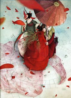 Red Passion by Rebecca Dautremer (2) ~ Blog of an Art Admirer