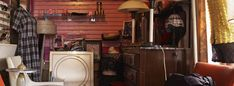 vintage and second-hand shops