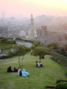 Al-Azhar Park is a very nice place to wander around in.