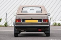 Golf Mk 1 Convertible with less than miles from new Mk 1, Convertible, Volkswagen, Golf, Infinity Dress, Turtleneck