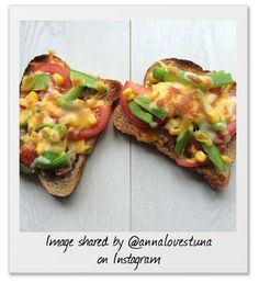 14 epic and Free sandwich fillings - Useful features - Slimming WorldTuna melt  Tuna, green peppers, tomatoes and sweetcorn sprinkled with reduced fat cheddar cheese (40g is a Healthy Extra 'a' choice) and grilled.