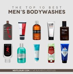 Soap up in the shower the right way! Explore the best men's body wash. http://nextluxury.com/mens-style-and-fashion/the-top-10-best-mens-body-wash-for-2013/